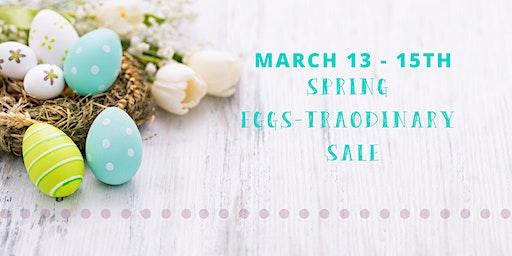JBF Roseville Spring Eggs-traordinary Sale 2020