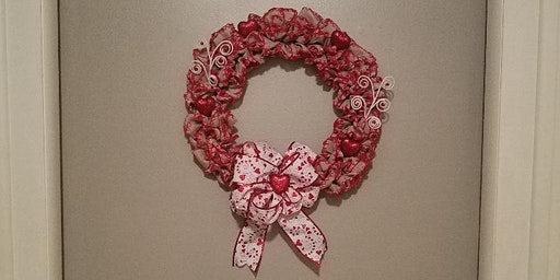 Make & Take Burlap Valentine Wreath
