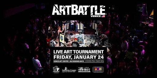Art Battle Venice - January 24, 2020