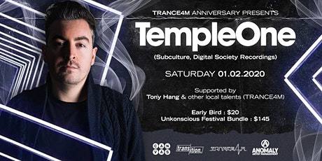 Trance4m Anniversary pres. Temple One tickets