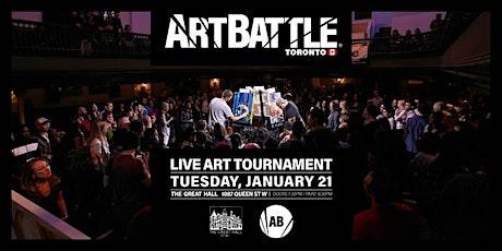 Art Battle Toronto - January 21, 2020 tickets