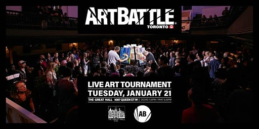 Art Battle Toronto - January 21, 2020