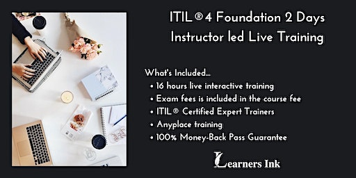 ITIL®4 Foundation 2 Days Certification Training in Port-Cartier