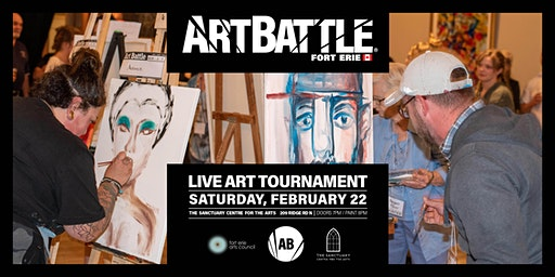 Art Battle Fort Erie - February 22, 2020