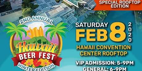 Hawaii Beer Fest 2020 Winter Edition tickets