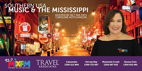 Travel to Southern USA with 92.7 Mix FM's Caroline Hutchinson tickets