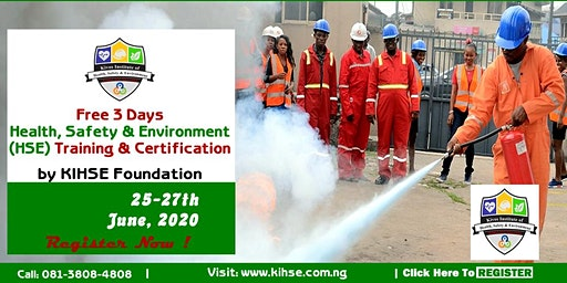 3rd Edition: Free 3-days HSE Training In Benin Cit