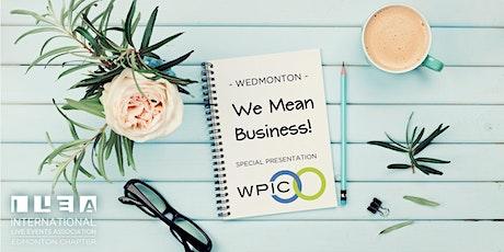 Wedmonton   We Mean Business tickets