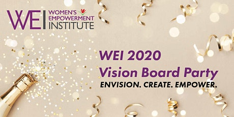 WEI 2020 Vision Board Party tickets