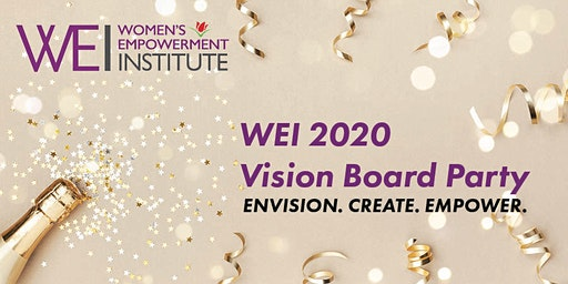 WEI 2020 Vision Board Party