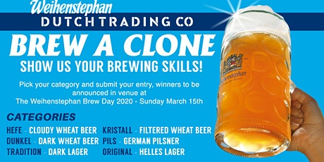Weihenstephan Home Brew Challenge tickets