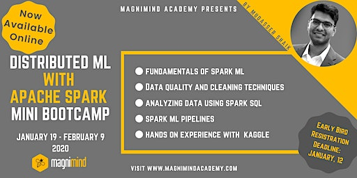 Distributed ML with Apache Spark Mini Bootcamp (Available Online)