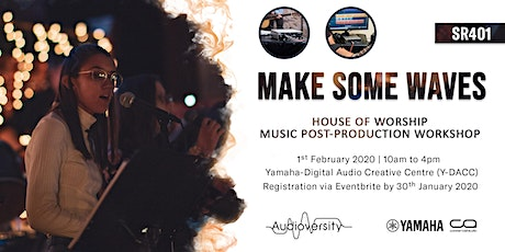 House of Worship SR401 Music Post-Production Workshop tickets