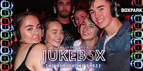 Jukebox  -  Headphone Party @Boxpark Shoreditch tickets