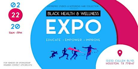 Houston Black Health & Wellness Expo tickets