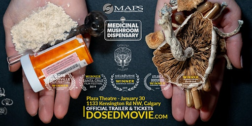 DOSED Documentary + Q&A at The Plaza Theatre, back by popular demand!