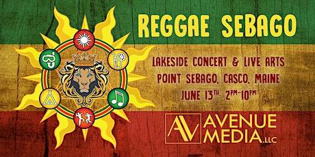 Reggae Sebago a Lakeside Arts & Music Concert tickets