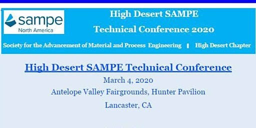 High Desert SAMPE Technical Conference 2020