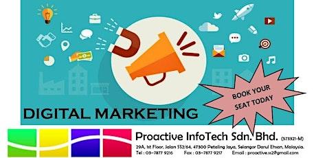ICDL Digital Marketing tickets