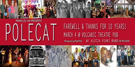 POLECAT FAREWELL SHOW (BEND) w/ ALICIA VIANI BAND tickets