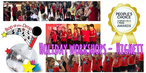Bop till you Drop HIGHETT Easter School Holiday Performance Workshop for Children (2 days) BOOK EARLY AND SAVE!