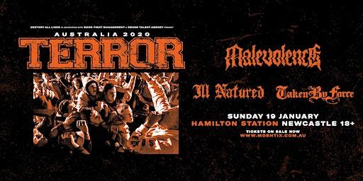 Terror with Malevolence - Newcastle