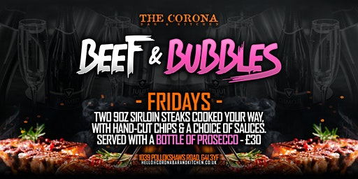 Beef & Bubbles