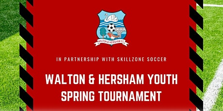 Walton & Hersham Youth FC Spring Tournament 2020 tickets
