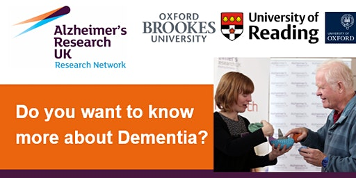 Alzheimer's Research UK Thames Valley Dementia Information Morning