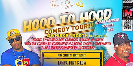 The 5STAR Hood to Hood Comedy Tour tickets