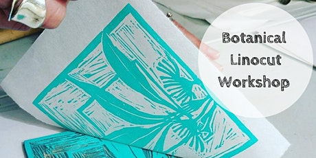 Art Class : Botanical Linocut Workshop tickets