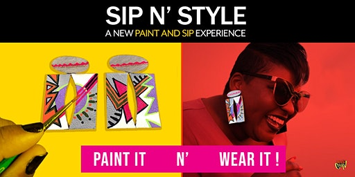 Sip n' Style, A new Paint and Sip Experience (Long Beach, Los Angeles)