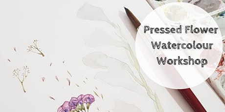 Art Class |Pressed Flower Watercolour Workshop tickets