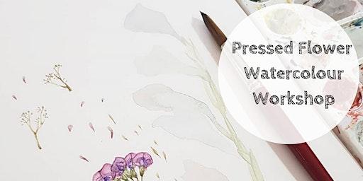 Art Class |Pressed Flower Watercolour Workshop