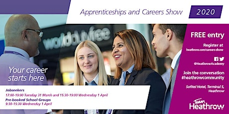 Heathrow Apprenticeships and Careers Show 2020 tickets