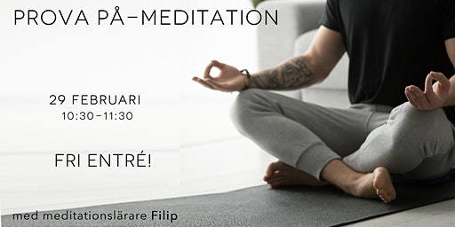 Prova-på-meditation (Gratis)