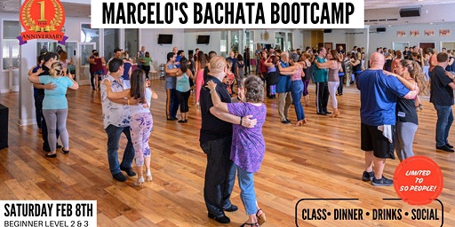 FEBRUARY BACHATA BOOTCAMP (Beginner Levels II & III) & SOCIAL