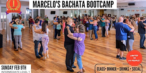 FEBRUARY BACHATA BOOTCAMP (Intermediate Level I) & SOCIAL