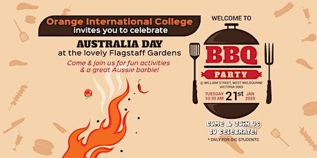 Australia Day Celebration with Aussie BBQ tickets