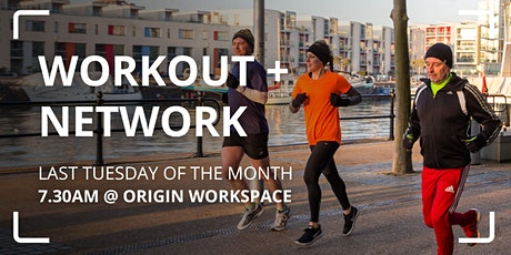 Workout + Network: Harbourside Walk, Jog, Run tickets