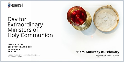 Day for Extraordinary Ministers of Holy Communion