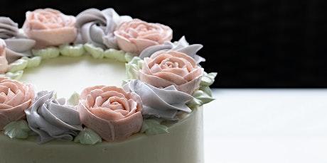 Baking Open Class: Floral Earl Grey Lavender Buttercream Cake tickets