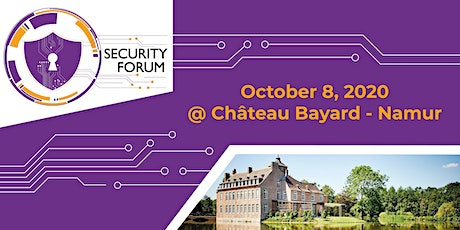 SECURITY FORUM 2020 billets