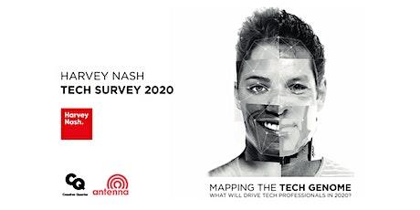 Harvey Nash Tech Survey 2020: Mapping the Tech Genome tickets