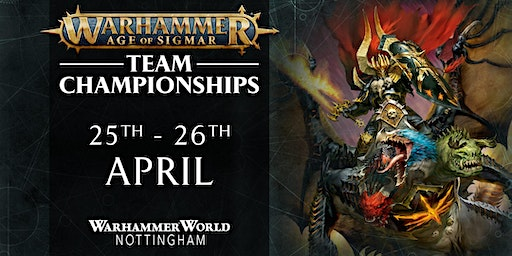 Age of Sigmar Team Championship April 2020