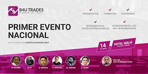 1er Evento Nacional B4U Trades en Alicante