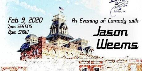 Sunday StandUp starring Jason Weems (NBC, HBO, Fox, The Apollo) tickets