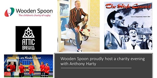 Wooden Spoon West Midlands  Charity event, an evening with Anthony Harty