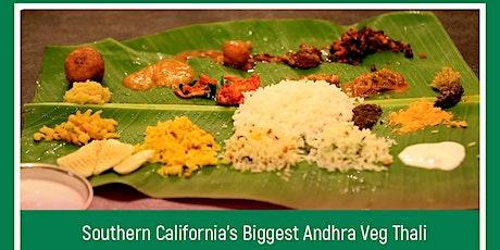 Telugu Banana Leaf Feast  - Rajugari Bhojanam (Veg) tickets