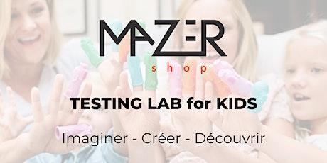 Atelier Test & Fun - atelier découverte pour enfants billets